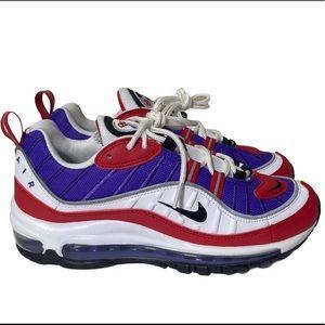 """Nike Air Max 98 """"Raptors Alternative"""" AH6799-501"""